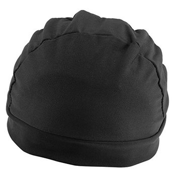 Dovewill Black Spandex Dome Cap Mesh Hair Net for Making Wigs Snood Stretchy Wig Cap