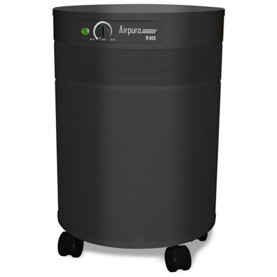 Airpura Industries Inc. Airpura UV600 Air Purifier - HEPA - 2000 Sq. ft. - 4189.1 gal/min - Black