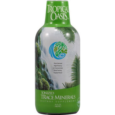 Tropical Oasis Ionized Trace Minerals - 16 fl oz - HSG-437715