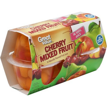 Great Value Cherry Mixed Fruit in 100 % Juice
