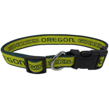 Pets First College Oregon Ducks Pet Collar, 3 Sizes Available, Sports Fan Dog Collar