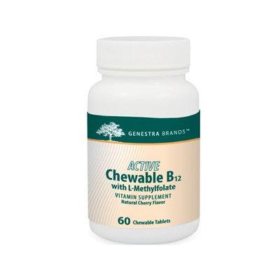 Genestra, Active Chew B12 w/L-Methylfolate 60 tabs