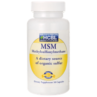 HCBL Msm 1,000 mg 50 Caps