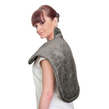 uComfy neck & shoulder heat wrap with 6 settings - As Seen on TV, Grey
