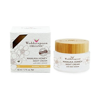 Wedderspoon Organic Manuka Honey Night Cream with Bee Venom