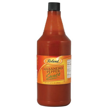 Roland Habanero Pepper Sauce 32oz Pack of 4