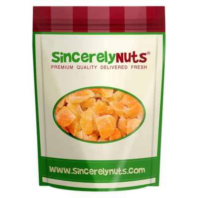 Sincerely Nuts Dried Cantaloupe, Chunks, 1 Lb