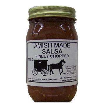 Amish Salsa Mild Finely Chopped - 2-16 Oz Jars [Finely Chopped Mild]