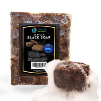 Raw African Black Soap - Pure Organic Natural Face Wash, Body Soap & Acne Soap - 1lb Bar