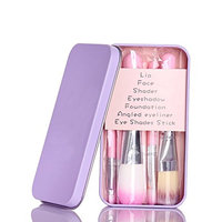 7PCS Makeup Brushes Set Cosmetic Foundation Eyeshadow Lip Face Beauty Tool