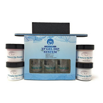 French Manicure Dipping Powder Starter Kit. 1 oz. per jar dip powder