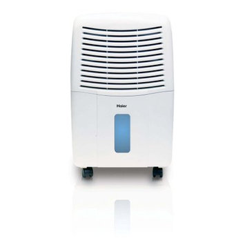 Haier 2 Speed Portable Mechanical Air Dehumidifier with Drain, 32 Pint DM32M