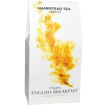 Hampstead Tea, Organic English Breakfast, 3.53 oz (100 g) [Flavor : English Breakfast]