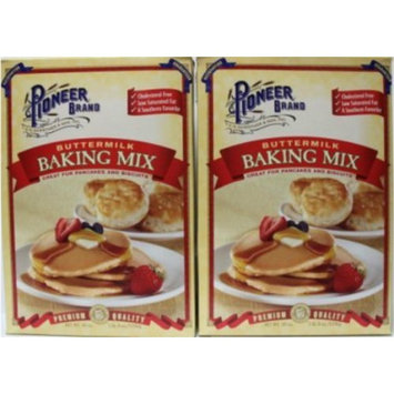 Pioneer Buttermilk Biscuit & Baking Mix 40 oz Box (Pack of 2)