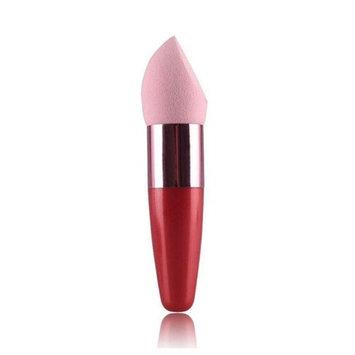 RNTOP Women Cosmetic Foundation Concealer Sponge Lollipop Face Red Brush