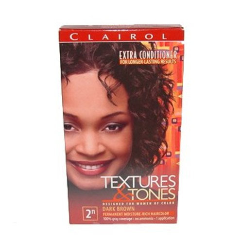 Clairol Professional Textures and Tones Permanent Hair Color, Dark Brown