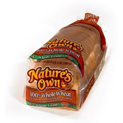 Nature's Own Whole Wheat Bread - Two Loaves