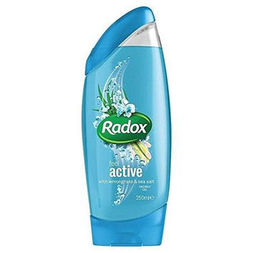 Radox Feel Active Shower Gel 250ml (PACK OF 2)