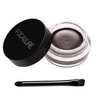 Ouyilu Professional Makeup Waterproof Eyebrow Definition Cream Eye Brow Gel with Brush 24ML