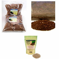 Living Whole Foods Hydroponic Wheatgrass Kit Refill - Grow Mats, Wheat Grass Seed, More