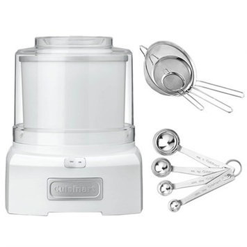 Cuisinart ICE-21 Frozen Yogurt-Ice Cream & Sorbet Maker with Exclusive Bundle
