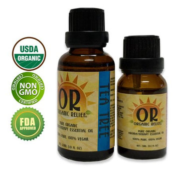 Organic Relief - Organic Tea Tree (Melaleuca) Essential Oil 30ml