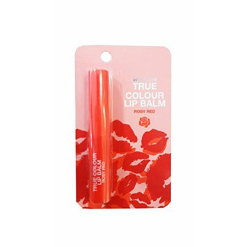 2 Packs of Watsons True Colour Lip Balm Rosy Red. It is Essential for a Nude Make-up. Be a Glamourous Queen with True Colour. (1.7g./ Pack).