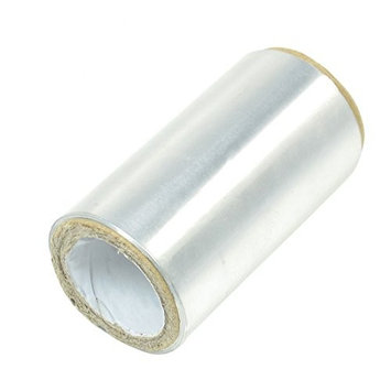 uxcell Aluminium Roller Hair Foil Tape 50M Length Silver Tone for Hairdressing
