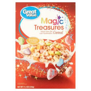 Wal-mart Stores, Inc. Great Value Magic Treasures Cereal, 11.5 oz