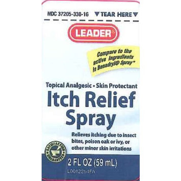 Leader Itch Relief Spray 2 oz (2 pack)