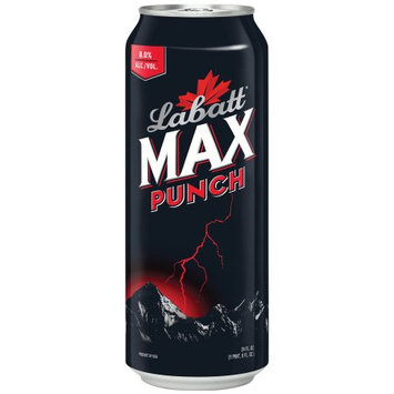 Labatt Max Punch Premium Malt Beverage 24 fl. oz. Can