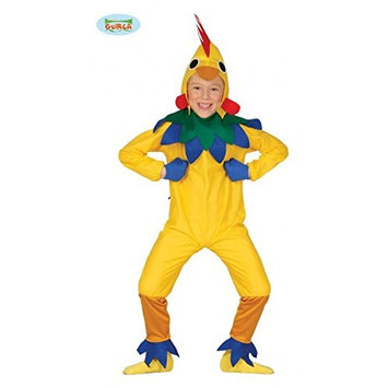 guirca – Chick Costume, size 5 – 6 Years, Yellow (83289)