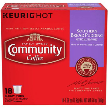 Community Coffee Southern Bread Pudding, 0.38 oz, 18 count