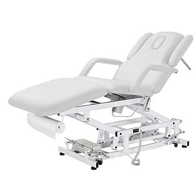 Tami Esthetician Electric Treatment table with Double-arm adjustable supports & retractable wheels USA Salon and Spa USA-2234