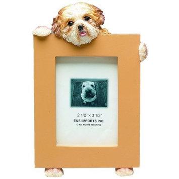 Shih Tzu Puppycut Tan Dog - 2 1/2'' x 3 1/2'' Photo/Picture Frame