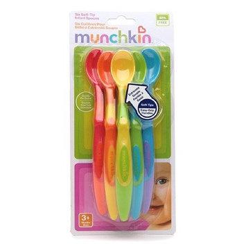 Munchkin Soft-Tip Infant Spoons 6 ea (Pack of 2)