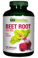 Tnvitamins Beet Root 500 Mg Capsules - 100 Capsules