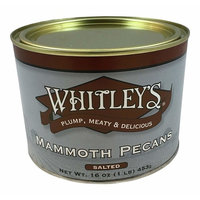 Whitley's Mammoth Pecans Salted 16 Oz
