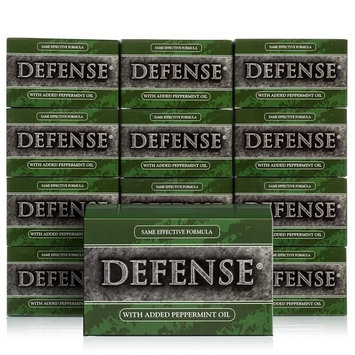 Defense Soap, Peppermint, 4 Ounces (Pack of 12)