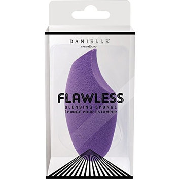 Danielle Enterprises Latex-Free Flawless Beauty Blender Makeup Sponge, Purple