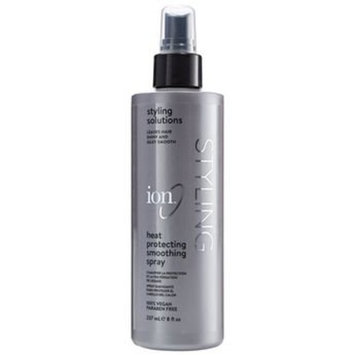 ION Styling Solutin Heat Protection Spray 8 fl.oz & ION Styling Solutins Dry Shampoo 4.5 oz Set with a FREE Mini Net Sponge