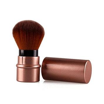 Malloom Travel Portable Retractable Makeup Brushes Powder Concealer Blush Con...