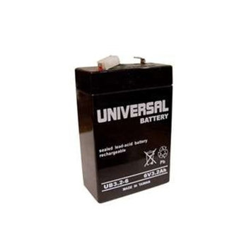 Universal Power Group 6V 3.2Ah Rechargeable SLA AGM Battery for Ross Laboratories Flexiflo Devices