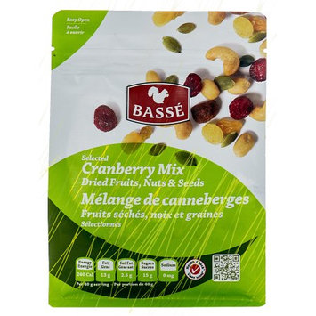 Basse Nuts Basse Selected Cranberry Mix, Dried Fruits, Nuts and Seeds (7oz.) Pumpkin Seeds Perfect Trail Mix Recipe