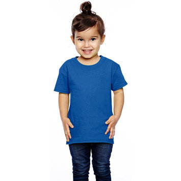 T3930 Toddlers Cotton T-Shirt -Royal-3T