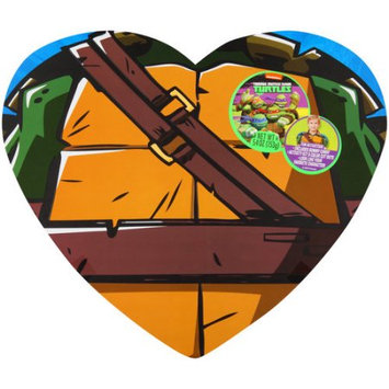 Frankford Candy Llc Frankford Nickelodeon Teenage Mutant Ninja Turtles Body Heart Valentine's Gift Set, 3 pc