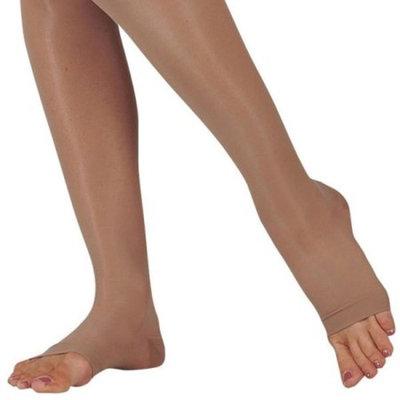 Juzo 2101 Naturally Sheer Open Toe Knee Highs - 20-30 mmHg Short JUZO2101AD-P