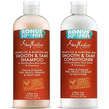 Shea Moisture Argan Oil & Almond Milk Smooth & Tame