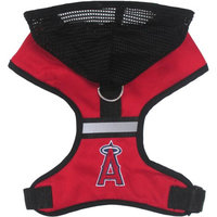 Pets First MLB Los Angeles Angels Pet Harness with Hood, Small