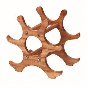 VinoStrumenti VSBR2 Natural Wooden Bottle Rack